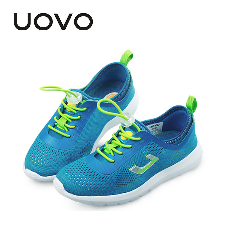 Uovo Brand Schoenen Kids Sports Running Shoes Childrens Footwear Tenis Esportivo Autumn Spring Summer Boys Girls Mesh Sneakers