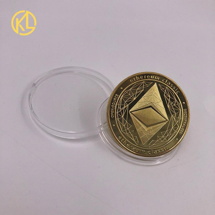 CO017 1 шт. не монеты иностранных валют Dash эфириум Litecoin пульсация Биткойн XMR Monero монета 8 видов памятных монет Прямая - Цвет: CO-012-1