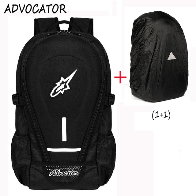 Advocator Large Capacity Oxford Motorcycle Men Backpack 14 Inch ...