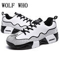 Zapatos casuales de Aire Para Los Hombres Calzado de Invierno Marca Hombre Blanco zapatos Krasovki Hombres Entrenadores Gumshoe Zapatos Valentín Código Para Pisos X179