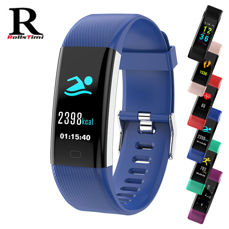 Smart Watches RollsTimi USB charge Sports Men Digital Watch Heart Rate Monitoring Function for Android iOS Bluetooth Watch women food grade high purity 99% l arginine powder l arginine powder essential amino acid nutritional supplement
