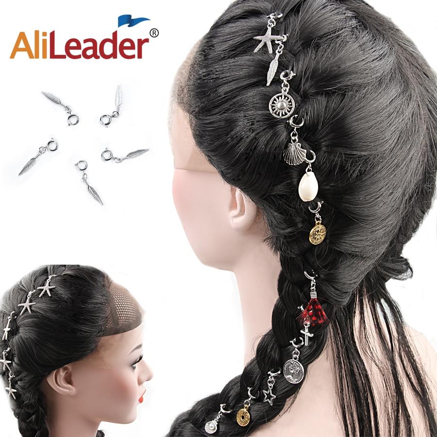 hair braided rings cool girls
