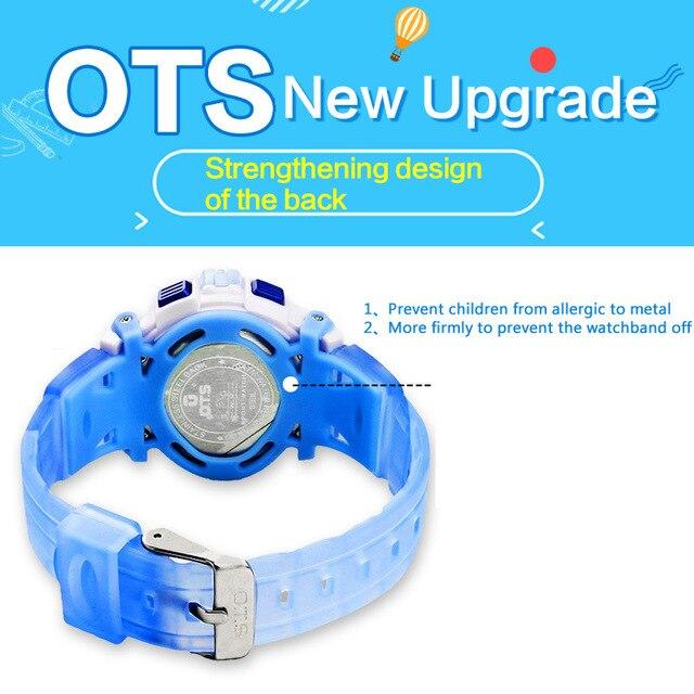 2df82dd700cf OTS 2016 nuevo Reloj de la manera LED Daliry vida impermeable deporte fuera relojes  de dibujos animados muchachos de la muchacha de Los niños Digitales ...