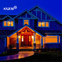 Waterproof Led Laser Light Christmas Lawn Light Sky Star Projector Landscape Stage Spotlight Park Garden Xmas
