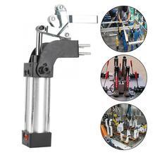 лучшая цена Holding 50KG Capacity Cylinder Pneumatic Clamp GH-20820-A 174mm Intake interface Metal Clamp