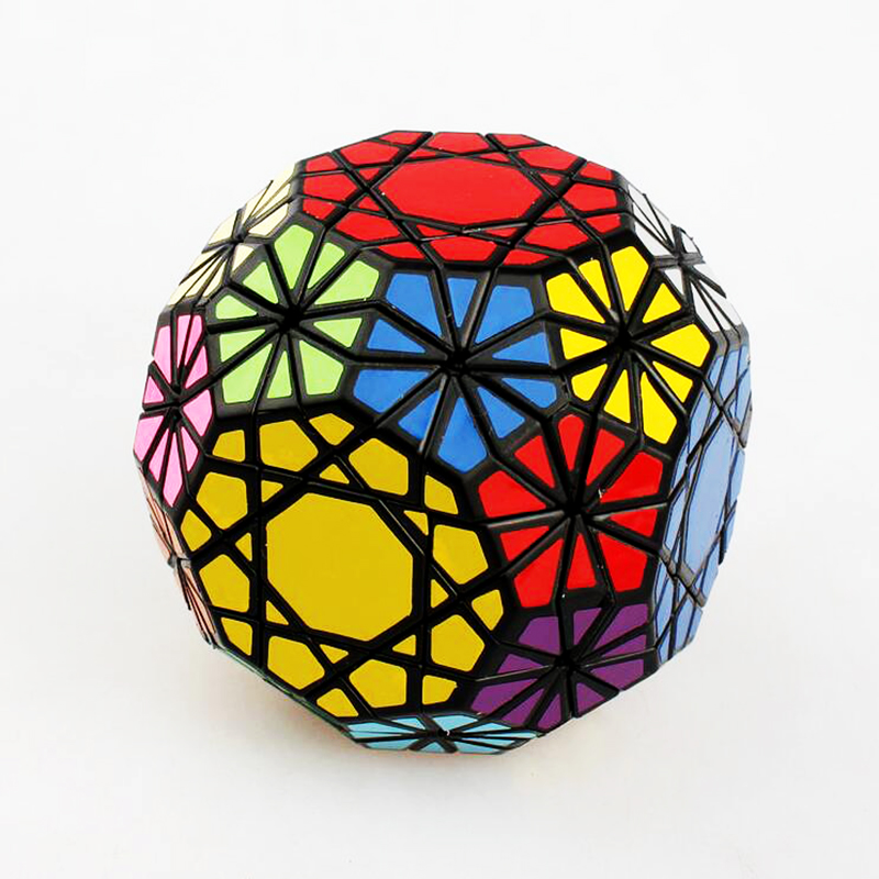 Dayan Gem Strange Shape Magic Cube Stress Reliever Brain Teaser Speed Square Magic Puzzle Educational Game Toys For Children verrypuzzle clover dodecahedron magic cube speed twisty puzzle megaminx cubes game educational toys for kids children