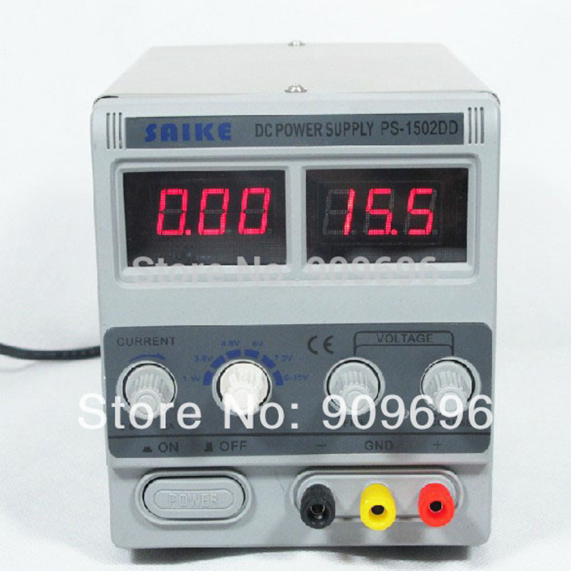 ФОТО New Digital Precision DC Power Supply Adjustable Stable Lab Grade 1502DD Input AC110V 50Hz/60Hz Output 15V 2A laboratory power