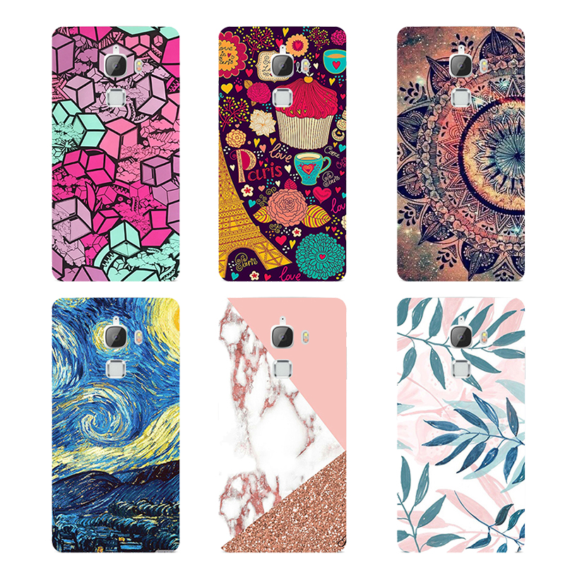 For LeEco Le Max2 Case X820 Silicone Letv Le Max 2 Cover Leeco Max2 Coque Character Printing for Le Eco Le 2 Max X829 X821