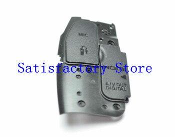Nueva tapa de interfaz USB/AV OUT/HDMI/MIC cubierta de goma para Canon 70D pieza de reparación de reemplazo