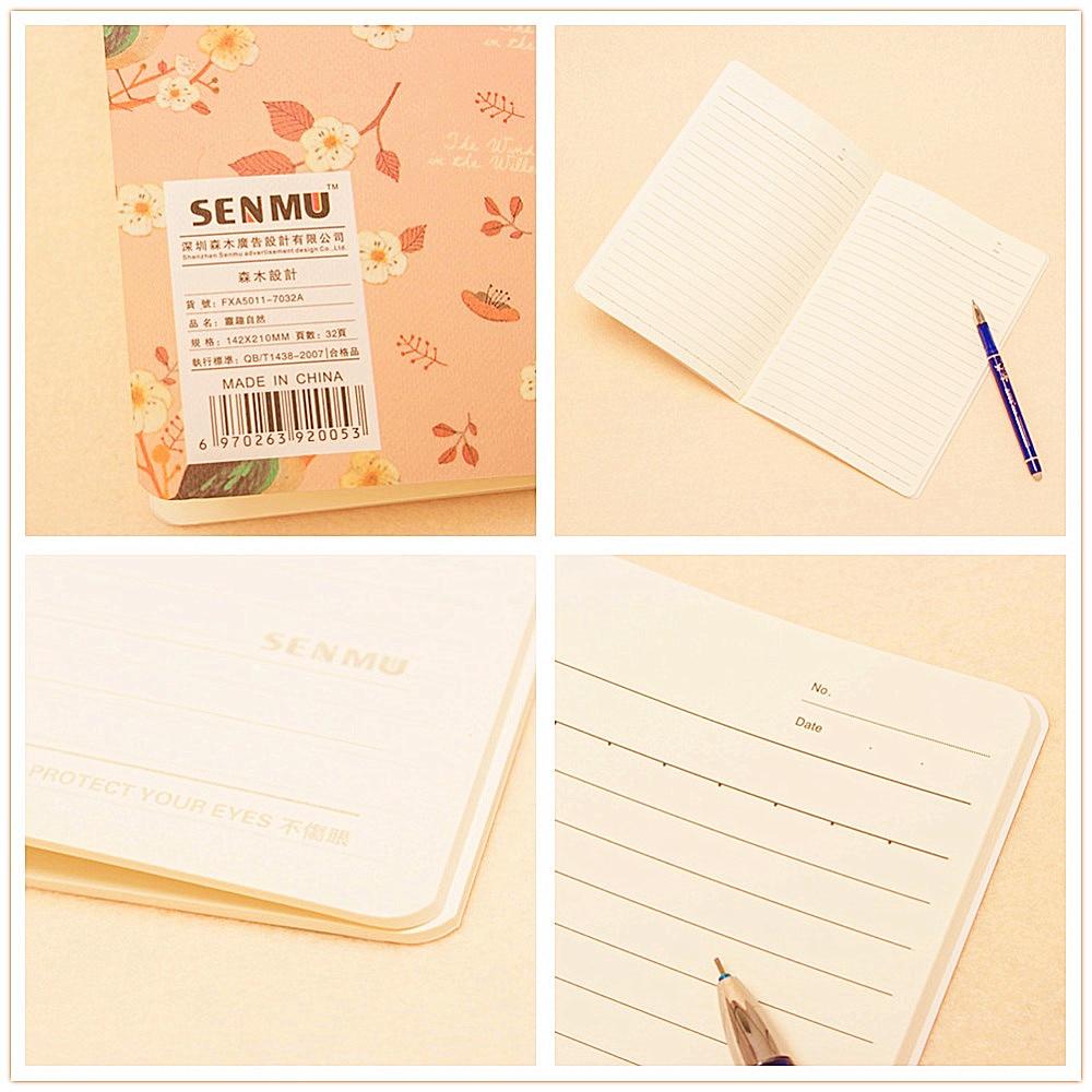 Hot 1 stks Leuke Natuur Dier Plant A5 Notebook 32 Pagina Notepad - Notitieblokken en schrijfblokken bedrukken - Foto 6