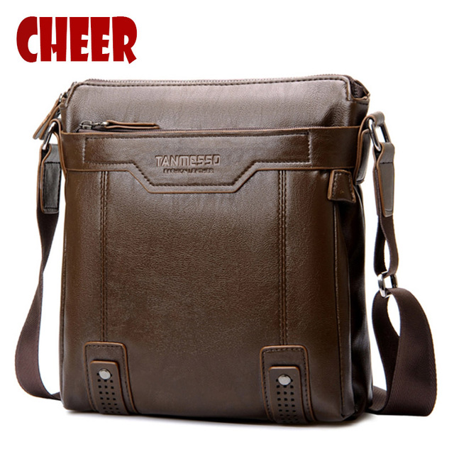 2017 Hot Fashion Men Bag Shoulder Bags Pu Leather Multi Style Luxury Handbags Messenger