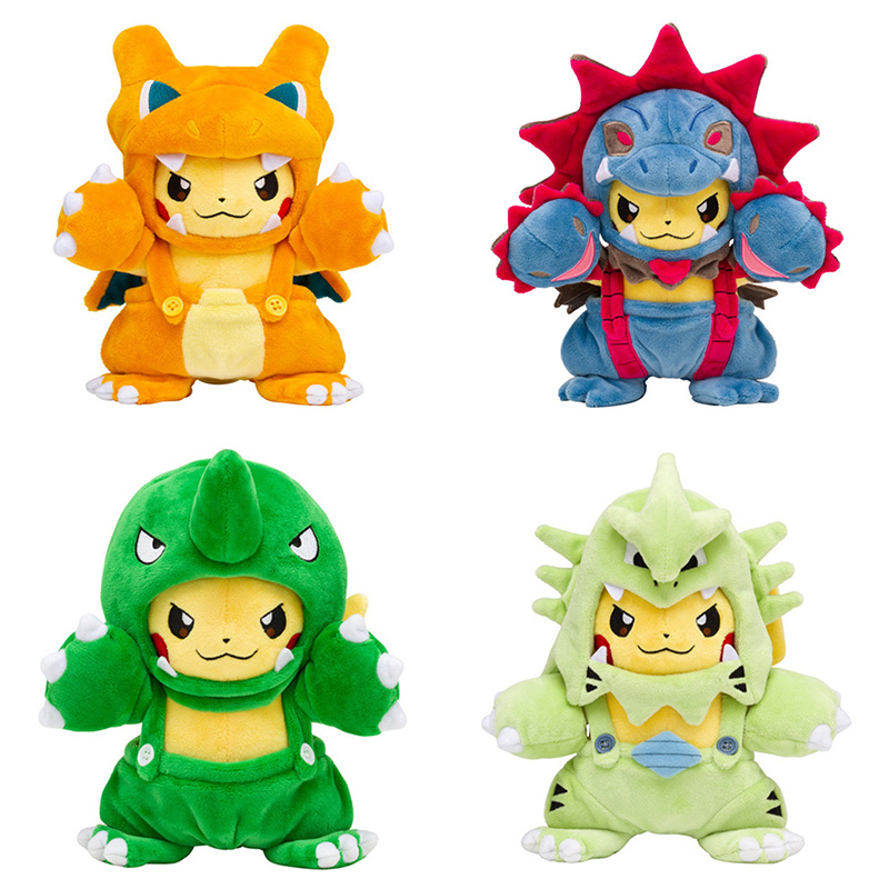 Forceful Anime Xy Pikachu Cosplay Hydreigon Maniac Tyranitar Charizard Pokeball Soft Stuffer Plush Gift Toys For Kids Catalogues Will Be Sent Upon Request Movies & Tv Toys & Hobbies