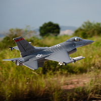 RC airplane EDF jet New Freewing Flightline F16 70mm plane model KIT