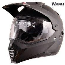 Pioneer moto rcycle casco con sun shield atv dirtbike croce moto cross casco doppia lente off road racing moto caschi