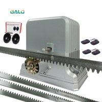 Balanceo automático puerta corredera Puerta de unidad para 3600lbs 1800 kg puerta con 5 M acero 1 sonser 1 lámpara AC220V/110 V