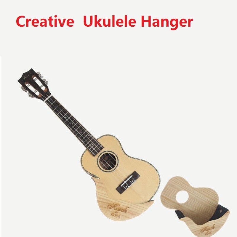 Creative Kasch Ukulele Wall Hanger Straightly Paste It On