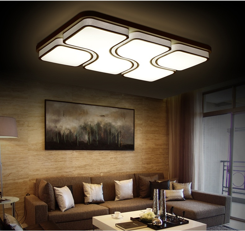 The new LED lamps, rectangular / Affirmative / Home Furnishing and commercial lighting