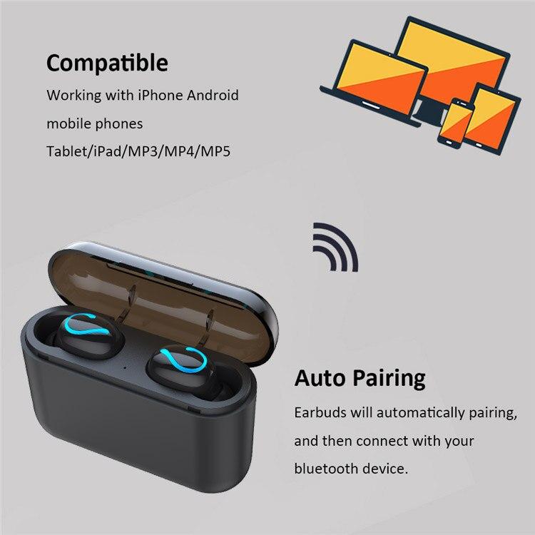Wireless Bluetooth 5 0 Earphones For Huawei honor 20i 10i 10 20 9 lite V20  V10 note 8X MAX 8A 8C 6X Play Music Earbuds Headset