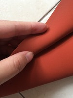500X500X1mm AG Silicone Sponge Sheet 500mm Width 1mm Thickness 500mm Length Foam Silikon Sheet RED Color