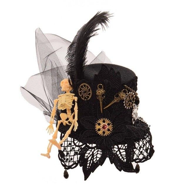 Шляпа готическая в стиле стимпанк в ассортименте 1