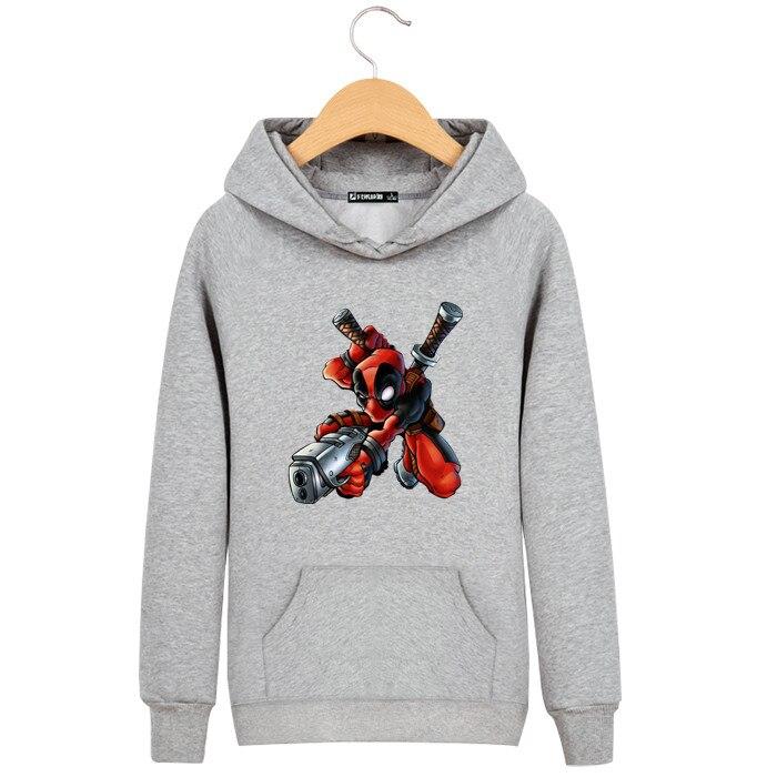 hoodies Men deadpool hoodie Skateboard Hoodie hip hop Mens Pullover Hoodies deadpool Sweatshirt Clothing deadlpool