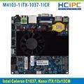 HCIPC Nano-1037U-1ICR, Celeron C1037U Nano ITX placa base, Placa Base Integrada