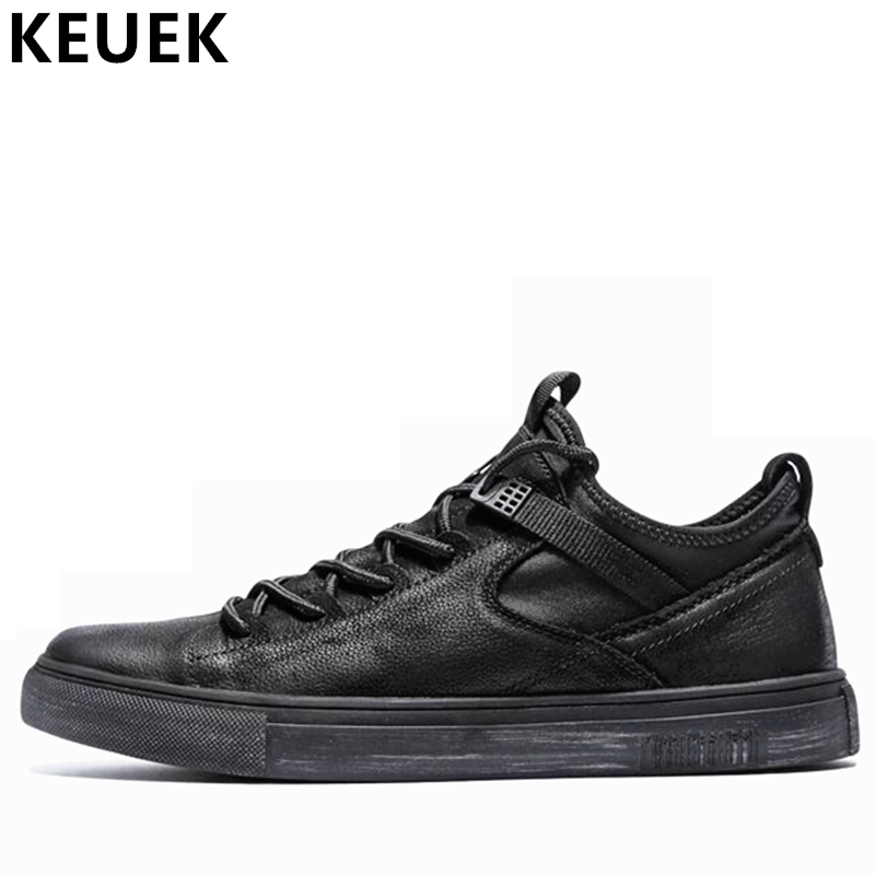 CHUQING Men s Chelsea Leather Fashion Ankle Boots high Quality Soft Men Casual Boots