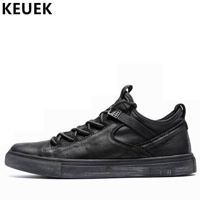Printemps automne hommes chaussures mode à lacets Laofers adultes baskets respirant mâle appartements hauteur augmenter chaussures décontractées 033