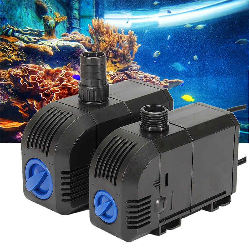 2 SIZE 20W/25W Electric Submersible Pump Aquarium Fish Tank Pond Water Waterfall Fountain Pump 25w submersible aquarium water pump ac 220 240v