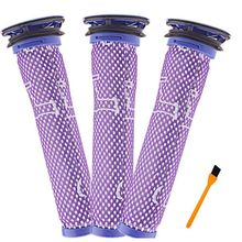 Replacement Dyson V6 Filter, Compatible V7 V8 DC58 DC59 DC61 DC62 Washable Pre Motor Filter for Cordless Vacuum Clean