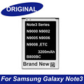 Original nova b800bc bateria 3200 mah para samsung galaxy note3 note 3 n9000 n9002 n9005 n9006 n9008 n9009 baterias & rastreamento