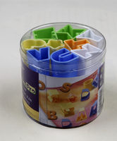 Plastic Letters Level Can Make Cookies Home DIY Baking Tool