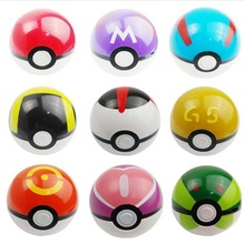13pcs/set Pikachu Ball Toy ABS Anime Action Figures PokeBall Toys Super Master Ball Toy Plastic Fairy Poke Ball Juguetes gifts