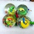 Мягкие Резиновые СВЕТОДИОДНЫЙ Прыгает Шарик Надувной Подпрыгивая Шары Света Детские Игрушки для Детей Мальчиков и Девочек День Рождения Подарки VBK67