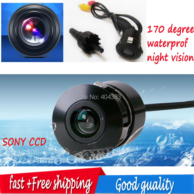 Reversing Guard Line Function Front Camera Car Waterproof Rear View Camera High Definition Display Universal Rear View Camera