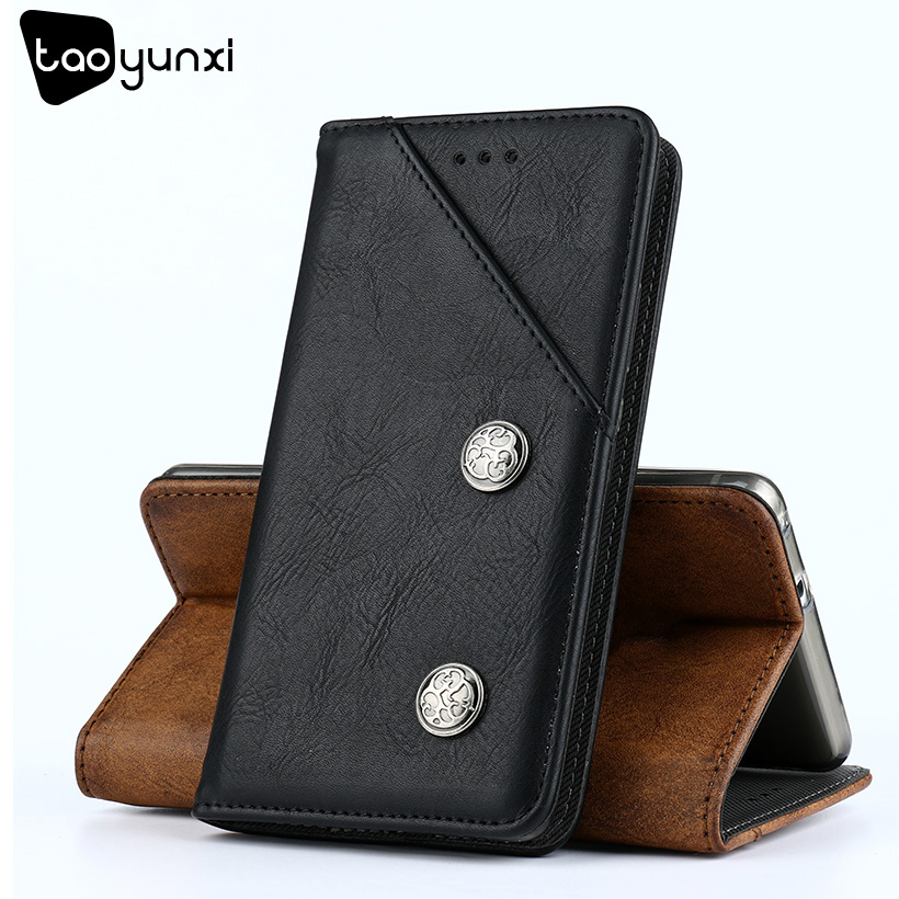 TAOYUNXI Wallet Case For Doogee X5 Max Cover Leather Flip Doogee X5 Max Pro Cases Coque Vintage Holster with Card Pocket 5.0inch