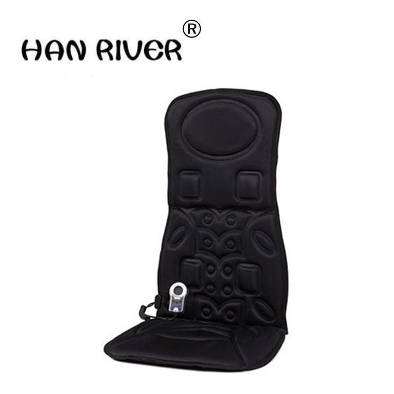 Household car massager chair cushion the back of the neck massage waist heating car cushion multi-function body the old neck massager neck shoulder waist back body multi purpose household massage chair cushion body massager