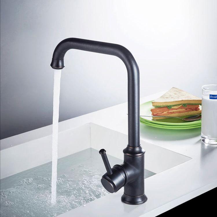 Basin Faucets Black Color Brass Crane Bathroom Faucets Hot and Cold Water Mixer Tap Contemporary Mixer Tap torneira B3287 стоимость