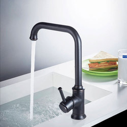 Basin Faucets Black Color Brass Crane Bathroom Faucets Hot and Cold Water Mixer Tap Contemporary Mixer Tap torneira B3287