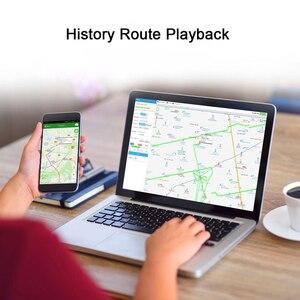 Image 5 - מיני GPS Tracker רכב אופנוע האחרון CJ720 CJ730 Builtin סוללה קרוואן הלם אזעקה מנותק שמן GPS Tracker GSM איתור