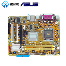 Original Used Desktop Motherboard Asus P5GC-MX/1333 945GC A2 Socket LGA 775 Core2 Duo Pentium D/4 Celeron D DDR2 2G Micro ATX for msi p43 c53 h original used desktop motherboard for intel p43 socket lga 775 ddr3 16g atx