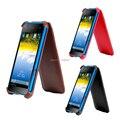 Novo design de 2016 Ultra-fino Telefone Capa Protetora de Couro para iq 4415 caso Para A Mosca IQ4415 Quad era Estilo 3 com frete grátis