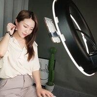 14 дюймов светодиодный фото лампы круг, живой свет, фото, якорь, красота, кожа, портрет, мягкий свет, таймер, jitterCD15