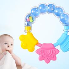 Baby Cartoon Rattle Teether Educational Mobiles Toys Teeth Biting Baby