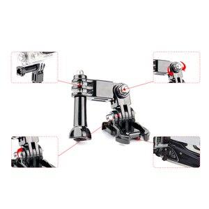 Image 3 - SnowHu sıcak satış fotoğraf aksesuarları Andoer üç yönlü ayarlanabilir Pivot kol Gopro Hero 9 8 7 6 5 4 için SJ4000 kamera GP15