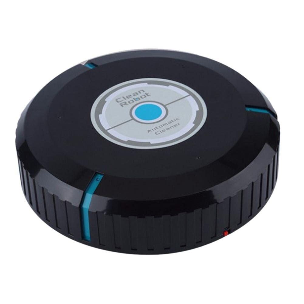 O Transporte da gota Para Casa Microfibra Limpador Automático Robô Inteligente Aspirador de Pó Robótico Mop Chão Cantos Aspirador Vassoura 2 Cores