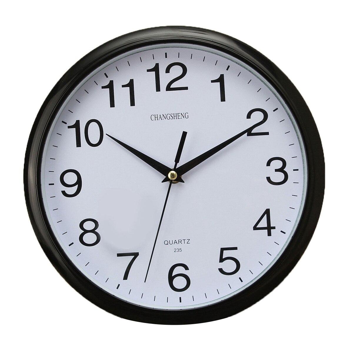 Best Large Vintage Round Modern Home Bedroom Retro Time Kitchen Wall Clock Quartz