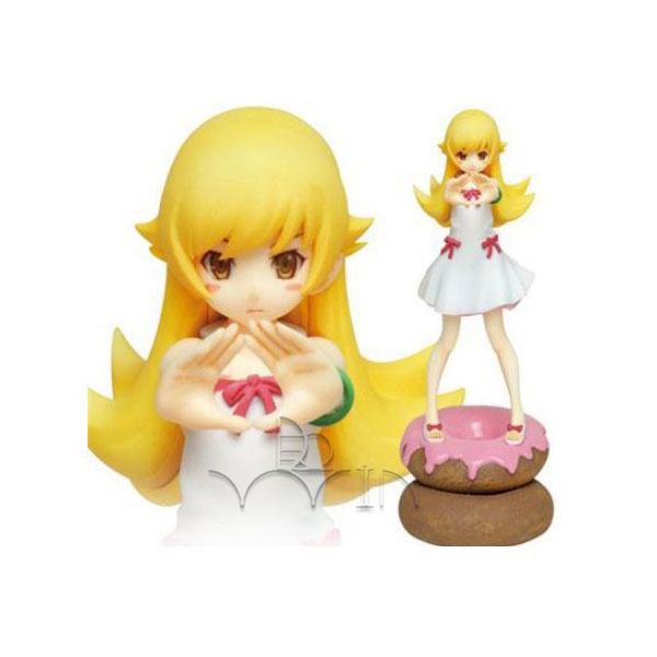orinigal anime Figure Anime Monogatari Nisemonogatari Oshino Shinobu Painted PVC Action Figure Collection Model Toy anime oshino shinobu kiss shot