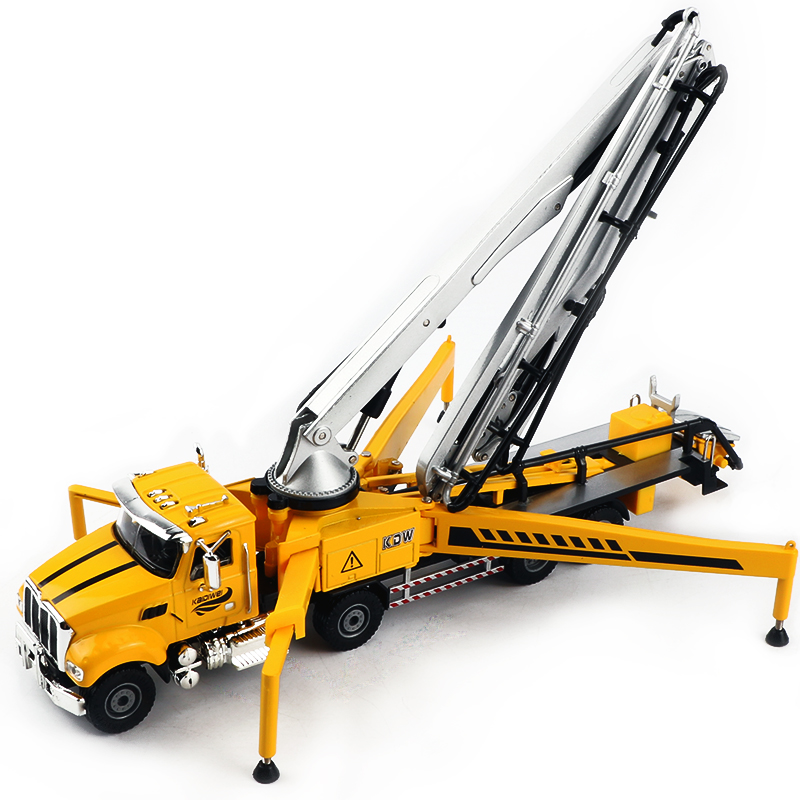 1PCS toy concrete pump truck play with Schwing Concrete Pump