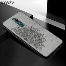 For OPPO A9 Case Shockproof Cover Soft Rubber Silicone Luxury Cloth Texture Phone Case For OPPO A9 Back Cover For OPPO A9 Fundas a9 cb a9 cc